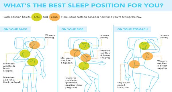 Was ist die beste Schlafposition